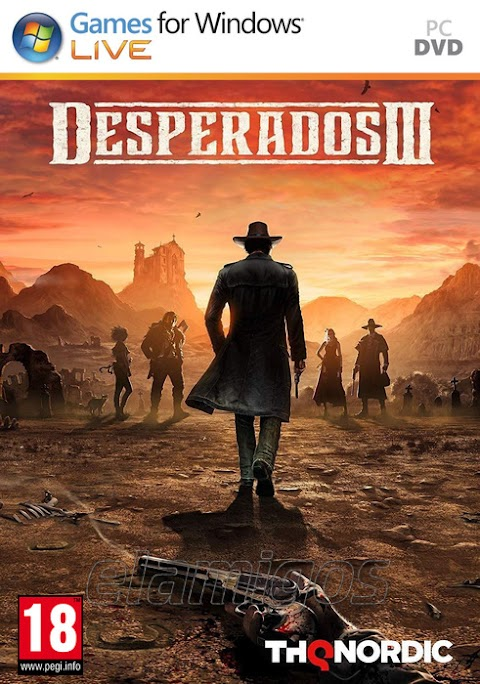 Download Desperados III Deluxe Edition (2020) for pc