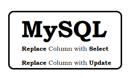 Replace Table - Update Field, Move Records to another table MySQL