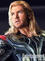 Chris Hemsworth es Thor en Vengadores