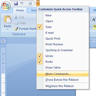 Cara Menonaktifkan Fitur Auto Corrects Microsoft Word