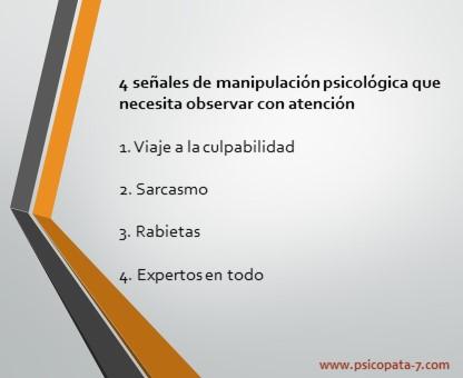 """""""4 señales de manipulacion"""" - imagen"""