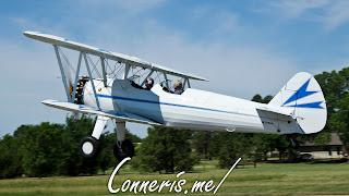 N3256A 1943 BOEING A75N1%2528PT17%2529 Takeoff 2