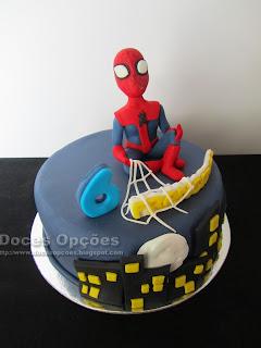 bolo homem aranha bragança