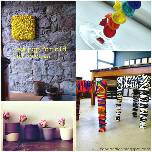 Repurpose: New pop for old balloons     | the ReFab Diaries