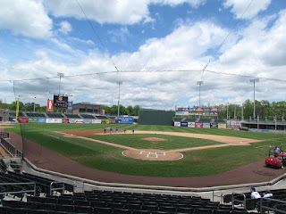 Home to center, Provident Bank Park