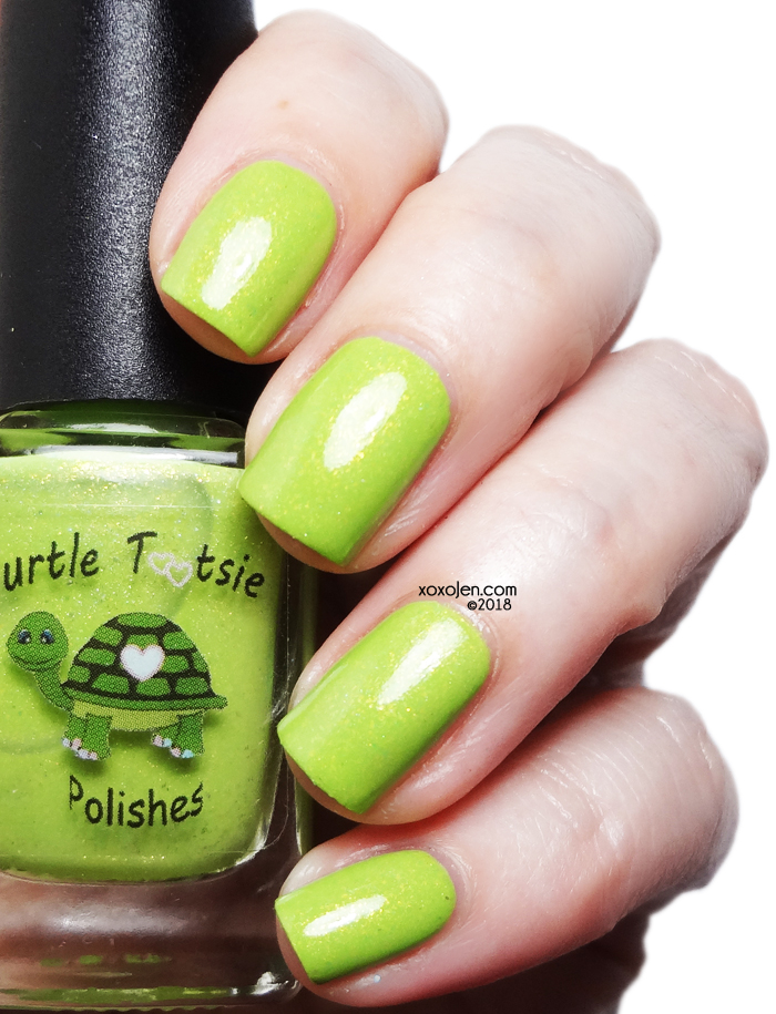xoxoJen's swatch of Turtle Tootsie The Grinch