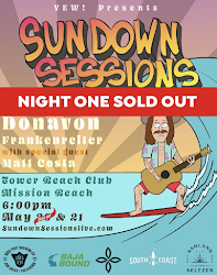 Save on tickets to SunDown Sessions Donovan Frankenreiter concert on May 21!