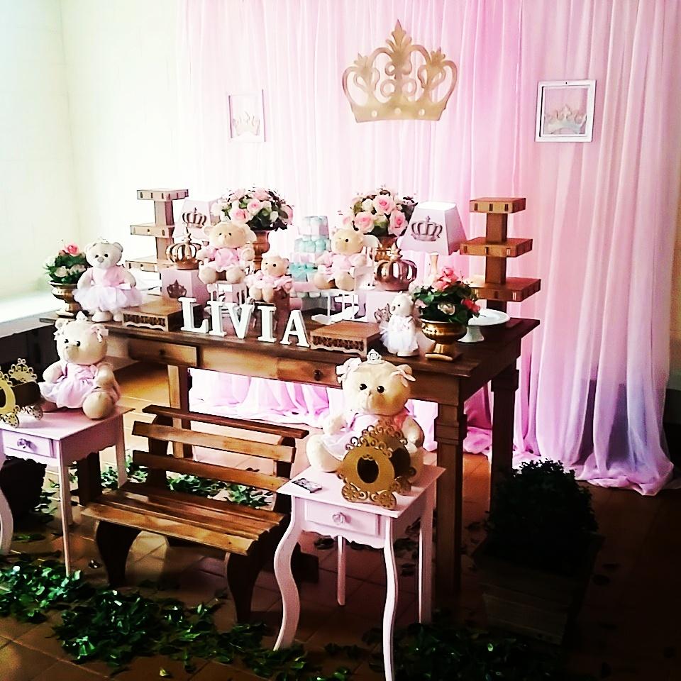 decoracao festa rustica:Crilê Decorações de Festas Infantis: Chá de Bebê Realeza Rústica