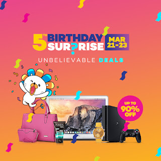 Lazada 5th Year Anniversary FLASH SALE HIGHLIGHTS