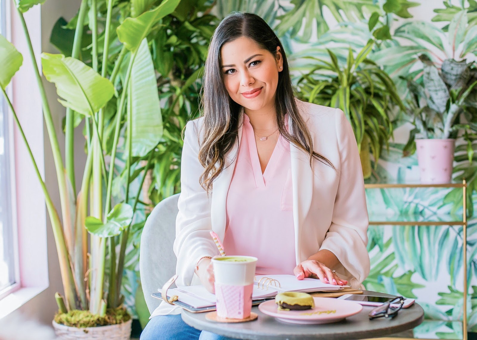 San Diego Fashion Blogger 2019, Holy Matcha San Diego