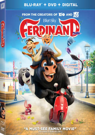 Ferdinand 2017 BRRip 850MB Hindi Dual Audio ORG 720p MSub Watch Online Full Movie Download bolly4u