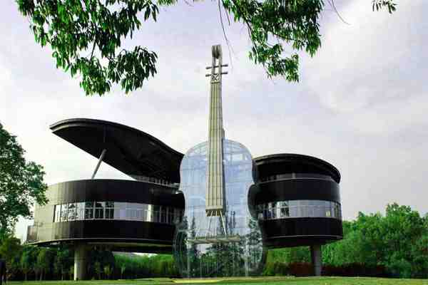 Piano House – Arsitektur Gedung Paling Romantis di China