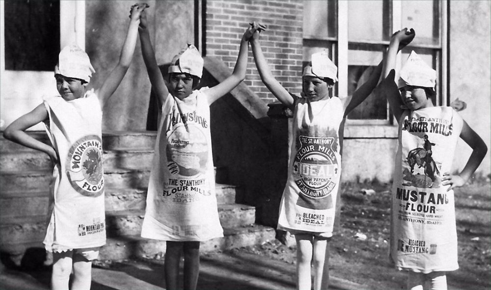 Did You Know 1930s Flour Sacks Had Colorful Patterns For