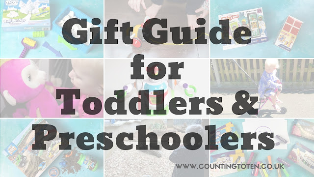 A great selection of ideas for presents for toddlers and preschoolers
