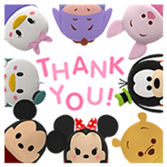 Disney Tsum Tsum Pop-Up Stickers