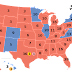 How the Electoral College voted (December 19th, 2016)
