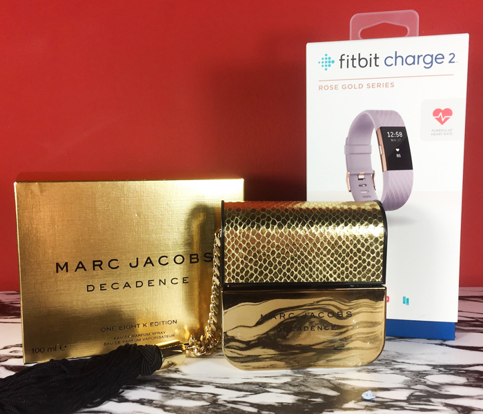Fitbit Charge 2 Marc Jacobs Decadence Gold