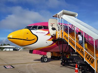 Airplane of Nok Air