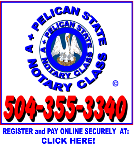 associated consultants a pelican state notary class register and rh associatedconsultants blogspot com Louisiana Notary Database Louisiana Notary Exam Questions