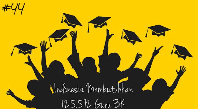 Indonesia Membutuhkan 125.572 Guru Bimbingan Dan Konseling