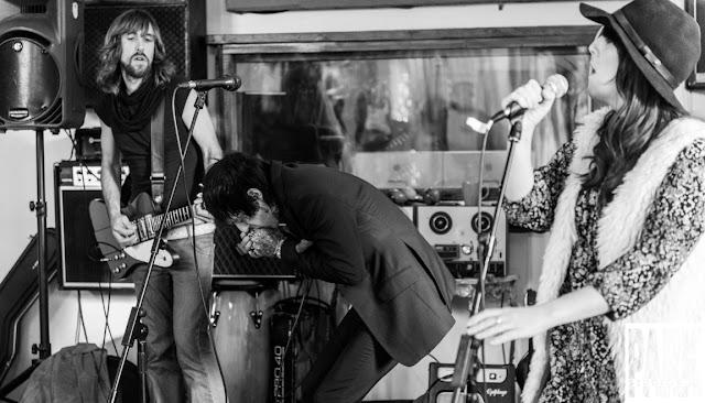 Brandy Row and the Coalition of Sound   Birmingham Recording Studio   Park Studios JQ   harmonica