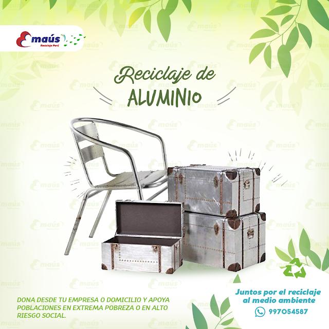 Reciclaje de Aluminio - Emaús Reciclaje Perú