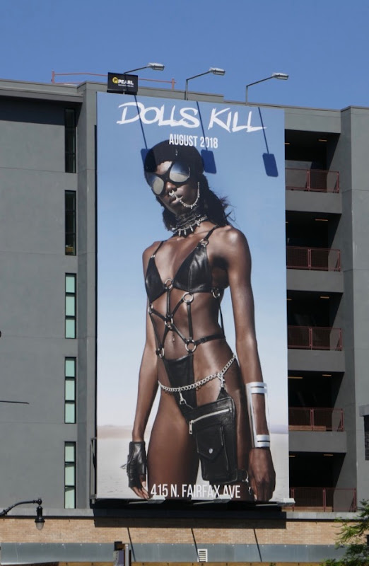 Dolls Kill Summer 2018 billboard