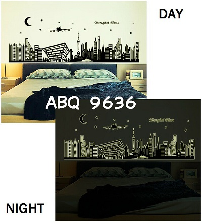 Wall sticker Glow In The Dark Murah Malang