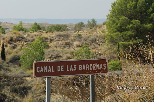 Canal de las Bárdenas, Sádaba, Zaragoza