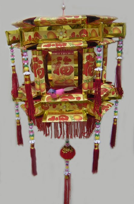Koleksi Gambar Lampion Dari Kertas Angpao