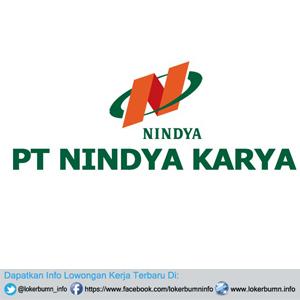 Lowongan Kerja Resmi PT Nindya Karya (Persero) Banyak posisi untuk lulusan SMK D3 S1 Semua Jurusan 2017
