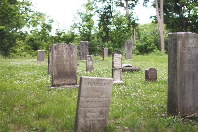 old cemetery, graveyard