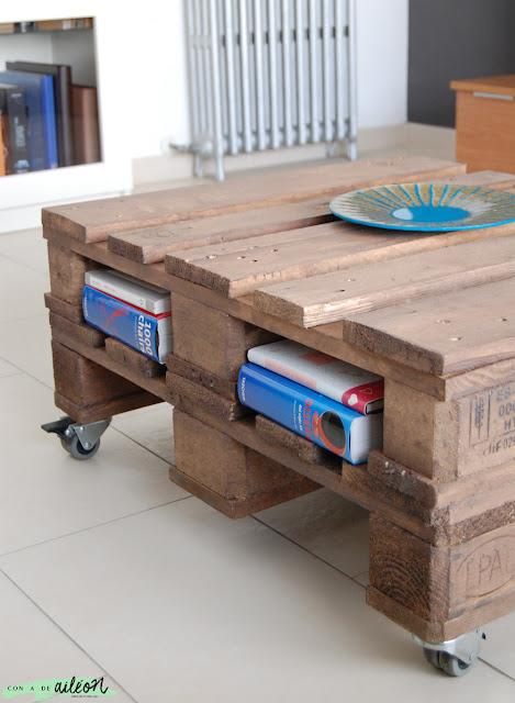 mesa palet diy reciclada