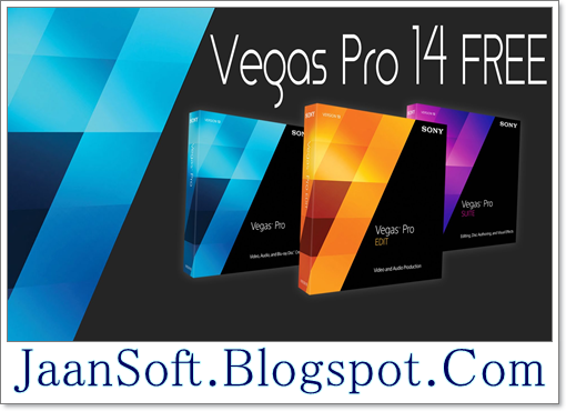 Sony Vegas Pro 14 Download For PC Latest Version