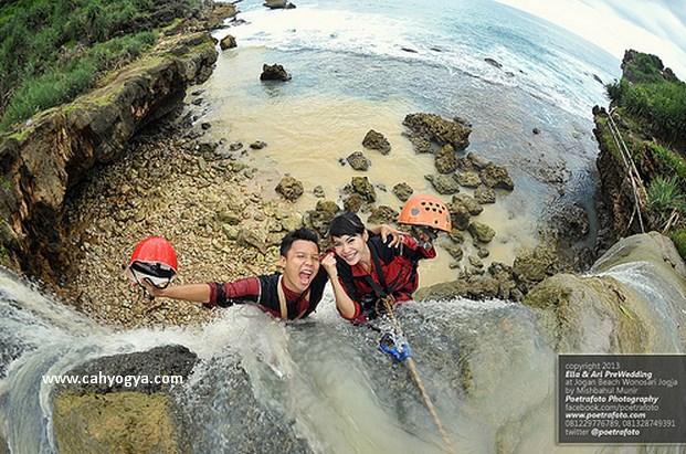 Wisata Air Terjun Jogan, Pantai Jogan Yogyakarta