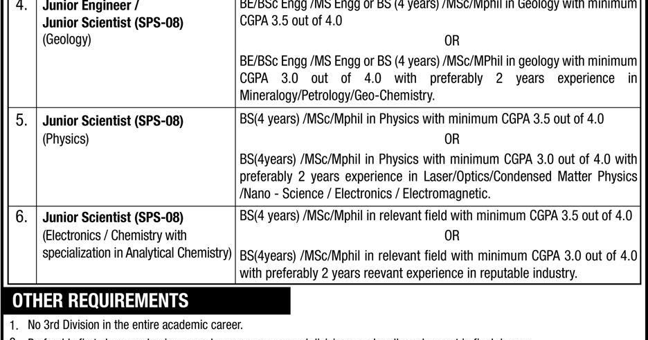 Pakistan Atomic Energy Commission PAEC Jobs 2019 - Sindh Jobs