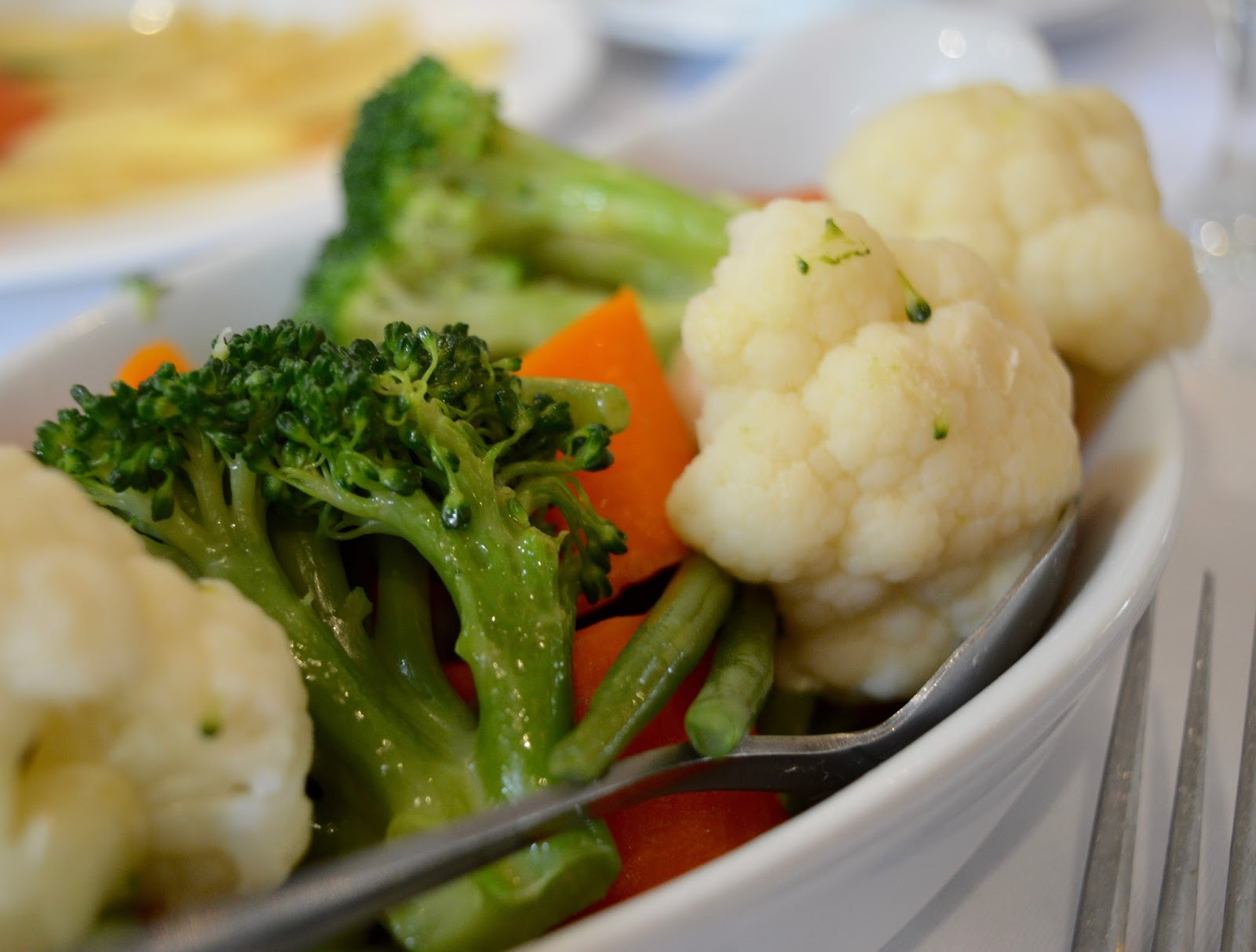Family Sunday Lunch at The Cherry Tree Restaurant, Jesmond | A Review  - vegetable side dish