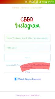 cara membuka instagram yang lupa password dan email dan nomor