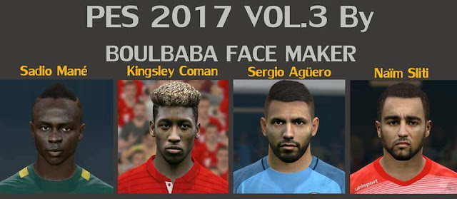 PES 2017 Facepack Update Vol.3