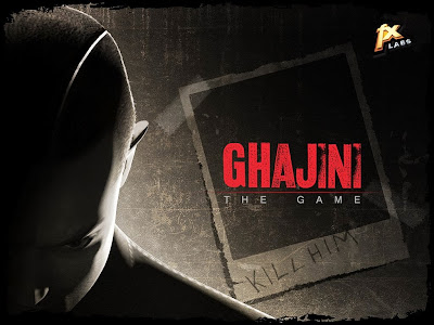 Cover Of Ghajini The Game Full Latest Version PC Game Free Download Mediafire Links At worldfree4u.com