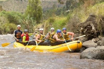 Rafting en el Rio Patate – Sitios Lugares de aventura de Ecuador