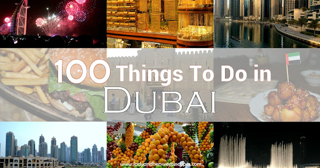 100 things to do in Dubai