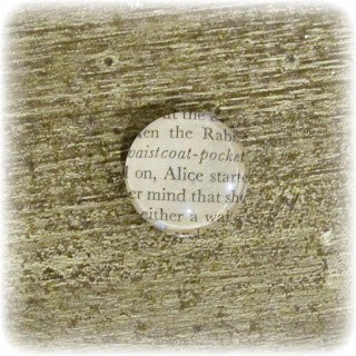 image alice in wonderland lewis carroll alice's adventures in wonderland needle keeper minder sewing craft supplies aide bookish domum vindemia