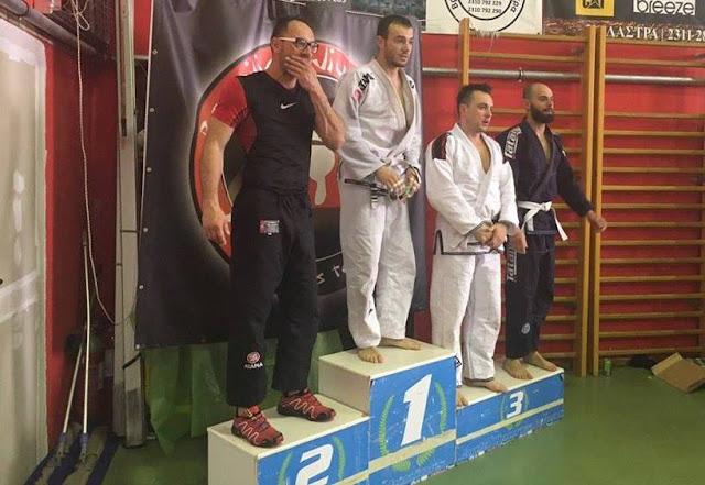 Συγχαρητήρια Καμπόσου στον Αργείο Νίκο Μουσταΐρα για το Χρυσό μετάλλιο στο Πανελλήνιο Πρωτάθλημα Brazilian Jiu Jitsu