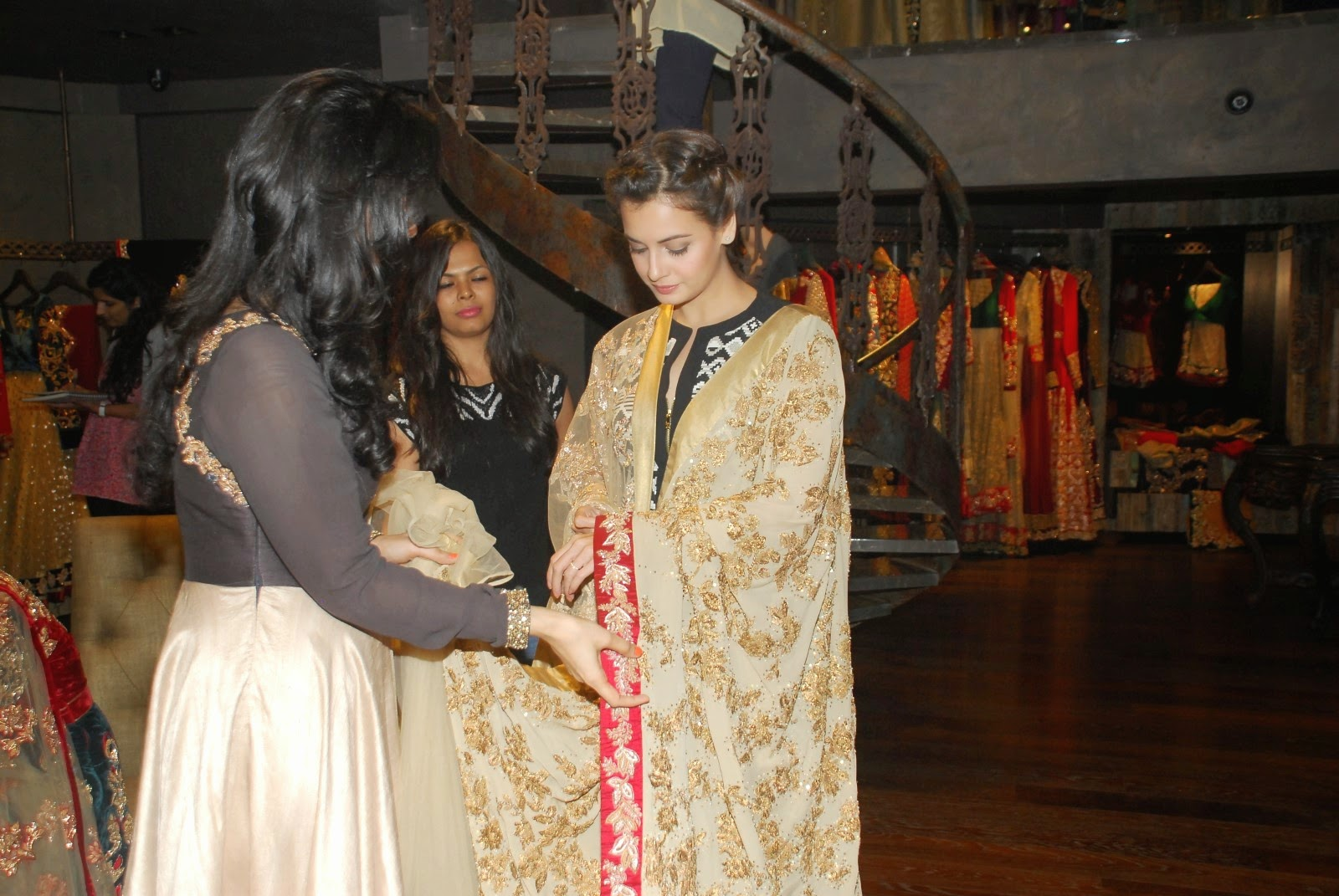 Dia Mirza at Shyamal Bhumika's store launch