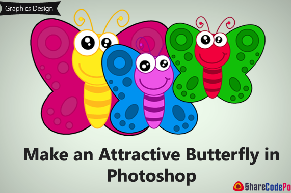 Make an Attractive Butterfly in Photoshop