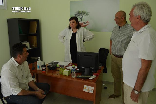 Σε εξέλιξη οι προληπτικοί έλεγχοι στο Κοινωνικό Ιατρείο του Δήμου Ναυπλιέων