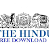 Download The Hindu Epaper PDF 19 October 2018