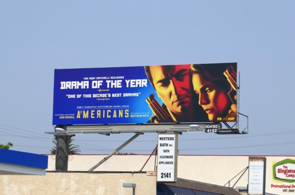 Americans final season Emmy nominations billboard