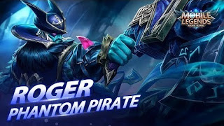 Download Script Skin Roger - Phantom Pirate (Mobile Legend)